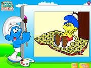 Color the smurfs j�t�k