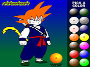 Dragon Ball Z painting j�t�k