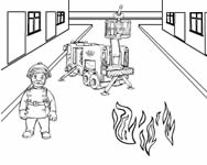 Fireman Sam make a picture online j�t�k