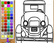 Old car painting j�t�k