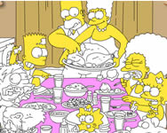 Simpsons thanksgiving party online j�t�k