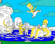 Vacationing Simpsons j�t�k